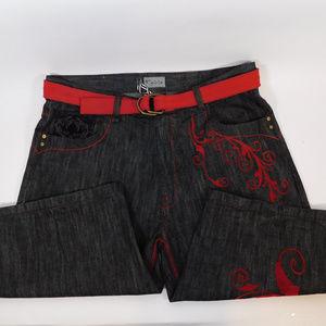 Russo Men's Black Denim Shorts 40 CL2560 1219